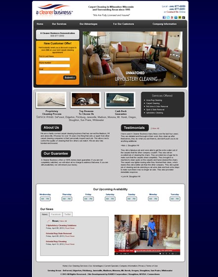A cleaner business website template websites evan schmidt websites a cleaner business website template flashek Choice Image